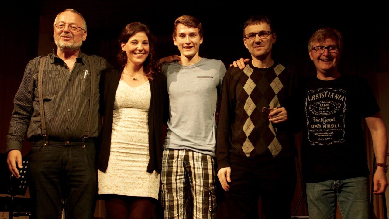 F.l.t.r.: Christian Ries, Lynn Weber, Alexander Deleuran, Tomasz Gorazd, Benny Deleuran.
